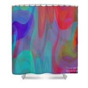 Obversion Shower Curtain