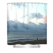 Obx Fisherman Shower Curtain