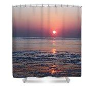 Oc Sunrise1 Shower Curtain