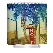 Occidental Hotel Shower Curtain
