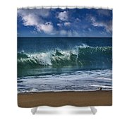 Ocean Blue Morning 2 Shower Curtain