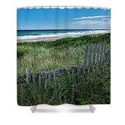 Ocean Blues Square Shower Curtain