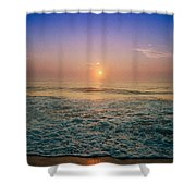 Ocean City Sunrise Shower Curtain