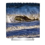 Ocean City Surf's Up Shower Curtain