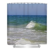 Ocean Crest Shower Curtain