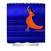 Ocean Dancer Shower Curtain