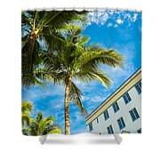 Ocean Drive Shower Curtain