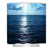Ocean Fall Shower Curtain