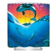 Ocean Freedom Shower Curtain