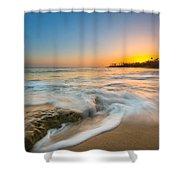 Ocean Glow Shower Curtain