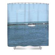 Ocean Goer Shower Curtain