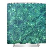 Ocean In Motion Shower Curtain