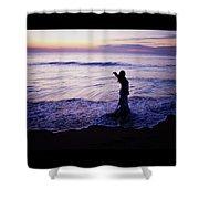Ocean Mermaid Shower Curtain