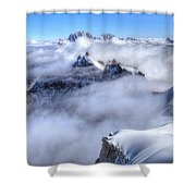 Ocean Of Clouds Shower Curtain