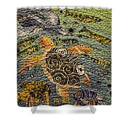 Ocean Photography Shower Curtain