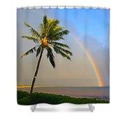 Ocean Rainbow Maui Shower Curtain