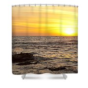 Ocean Sunset Shower Curtain