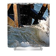 Ocean Table Shower Curtain