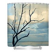 Ocean Tree Shower Curtain