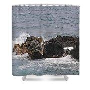 Ocean View At Wai'anapanapa State Park Shower Curtain