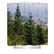 Ocean Vista Shower Curtain