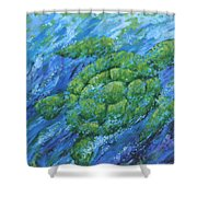 Ocean Voyager Shower Curtain