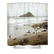 Ocean Walk Shower Curtain