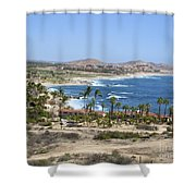 Oceanfront Relaxation Shower Curtain