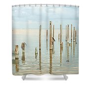 Oceanic Tranquility 2 Shower Curtain
