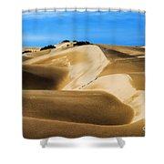 Oceano Sand Dunes Shower Curtain