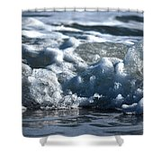 Ocean's Beauty Abstract Shower Curtain