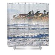 Oceanside California Shower Curtain