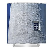 Ocracoke Island Light Shower Curtain