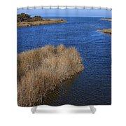 Ocracoke Island-north Carolina Shower Curtain