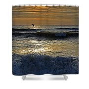Ocracoke Morning Shower Curtain