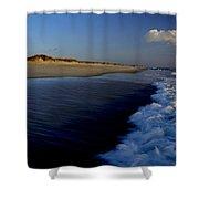 Ocracoke Surf Shower Curtain