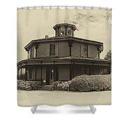 Octagon House  17739b Shower Curtain