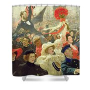 October 17th 1905 Shower Curtain