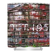 October 1955 Water Ttank Shower Curtain