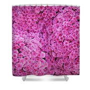 October Carpeting Shower Curtain