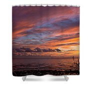 October Colors Shower Curtain