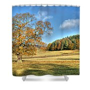 October Gold Shower Curtain