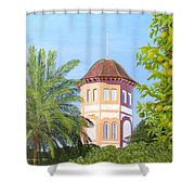 October In Seville Shower Curtain