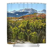 October In The San Juans Shower Curtain
