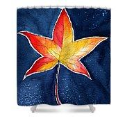 October Night Shower Curtain