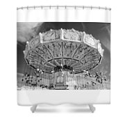 Octoberfest Amusement Shower Curtain