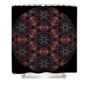 Octopus Mandala Shower Curtain