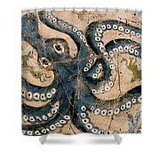 Octopus - Study No. 1 Shower Curtain