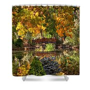 Ode To Autumn Shower Curtain