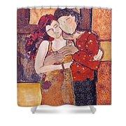 Ode To Klimt Shower Curtain